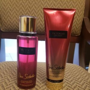 Victoria secret body spray n lotion